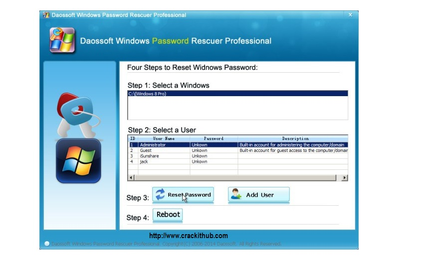 daossoft password rescuer registration code