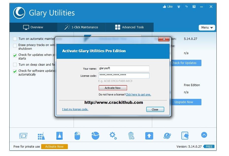 glary utilities pro 5 key generator