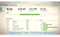 Employee Time Tracking Software